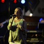 Elli Ernst, Sängerin und Frontfrau der D-Lite Partyband beim Schützenfest Plettenberg 2016