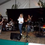 Schützenfest Bökenförde 2016. Die D-Lite Partyband mit Elli Ernst, Michael Ernst, Andreas Kober, Andreas Brückner, Patrick Sühl.