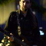 Patrick Sühl, Gitarrist der D-Lite Partyband beim Schützenfest Plettenberg 2016