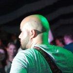 Davide Catalano Gitarrist der D-Lite Partyband aus Geseke NRW beim Schützenfest Hellinghausen 2017