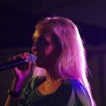 Elli Ernst Frontfrau und Sängerin der D-Lite Partyband aus Geseke Nrw beimm Schützenfest Hellinghausen 2017