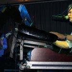 Michael Ernst , Keyboarder der D-Lite Partyband mit and Kober beim Schützenfest Plettenberg 2017 am Sonntag