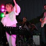 Die D-Lite Partyband aus Geseke NRW beim Schützenfest Plettenberg 2017 am Sonntag mit Andi Kober, Sängerin Elli Ernst und Thomas Väth