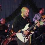 Davide Catalano, Gitarrist der D-Lite Partyband beim Schützenfest Plettenberg 2017 am Sonntag