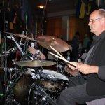 Thomas Väth, der TV-Drummer mit der D-Lite Partyband aus Geseke NRW beim Schützenfest Plettenberg 2017 am Samstag