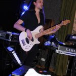 Nico Deppisch Bassist der D-Lite Partyband beim Schützenfest Sieveringen 2017