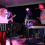 Elli Ernst und Michael Ernst von der D-Lite Partyband beim Schützenfest Sieveringen 2017